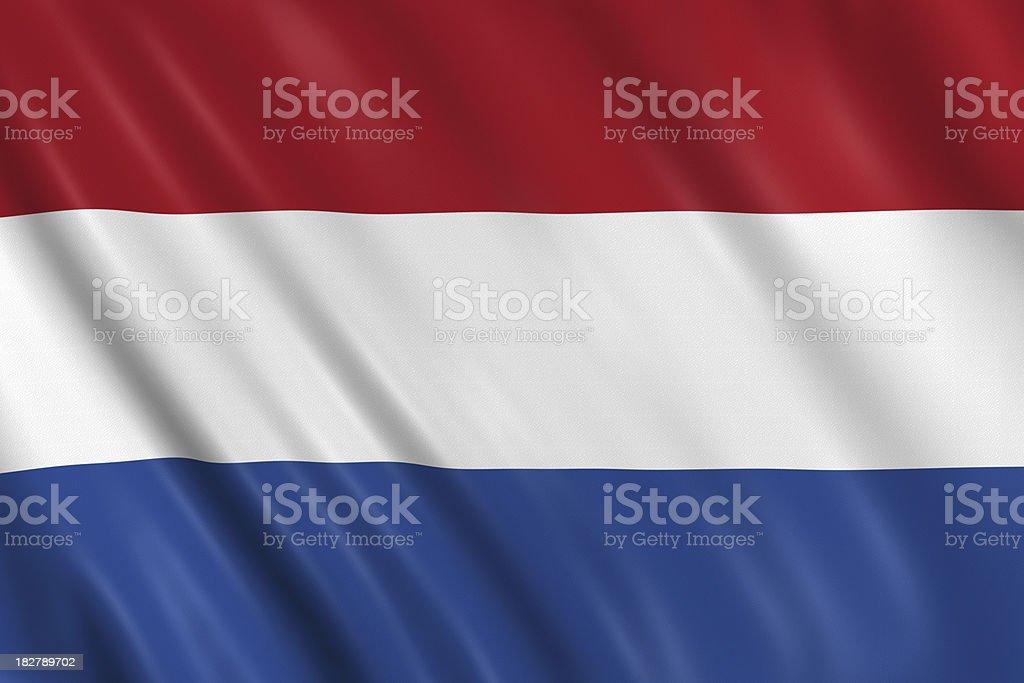 netherland, bandera holandesa - foto de stock