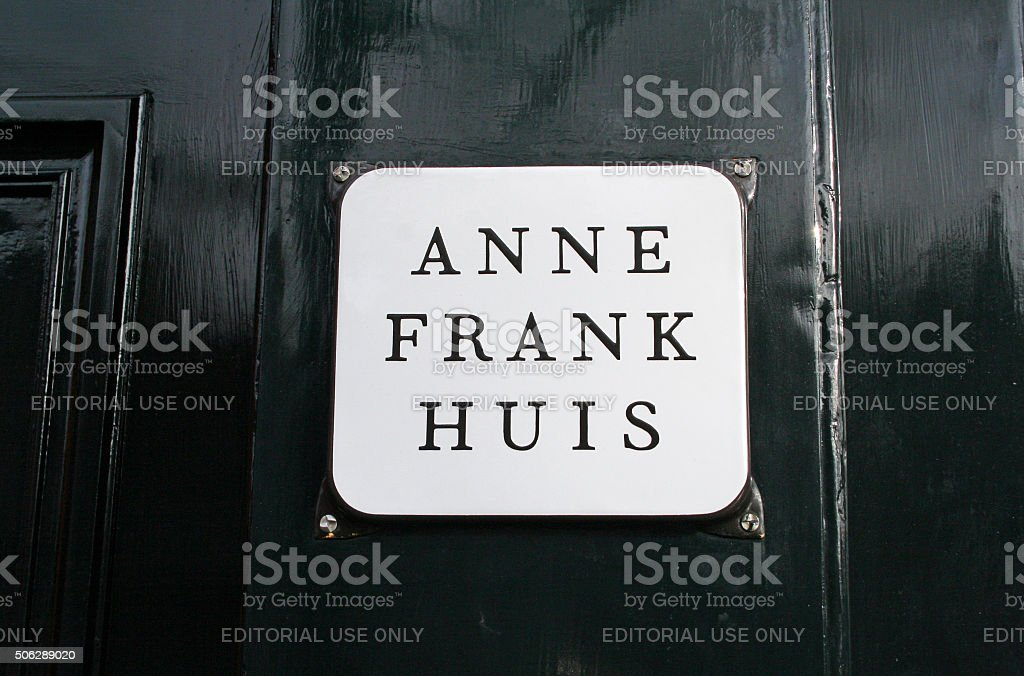 Netherlands: Anne Frank House in Amsterdam stock photo