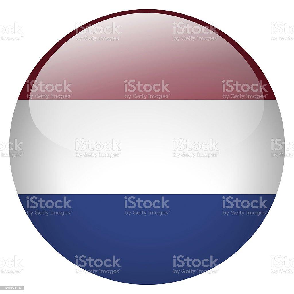 Países Bajos botón - foto de stock