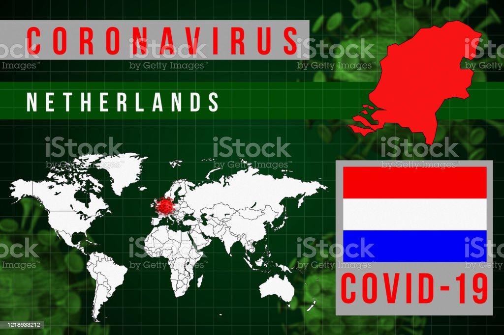 Image of: Netherlands Coronavirus Covid19 World Map Stock Photo Download Image Now Istock