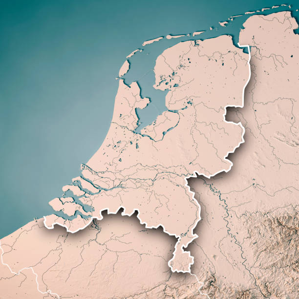 Royalty free netherlands map pictures images and stock photos istock netherlands country 3d render topographic map neutral border stock photo gumiabroncs Choice Image