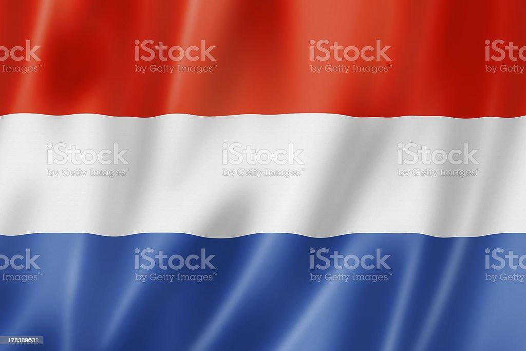 Bandera países bajos - foto de stock