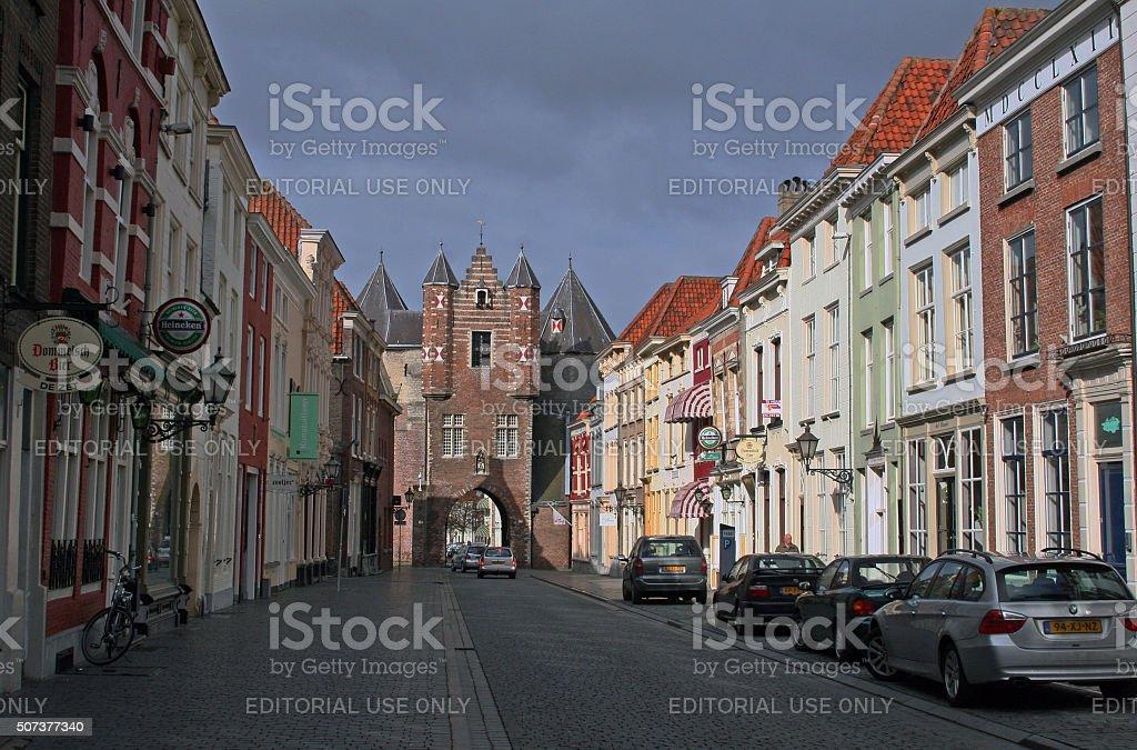 Netherlands: Gevangenpoort in Bergen Op Zoom stock photo