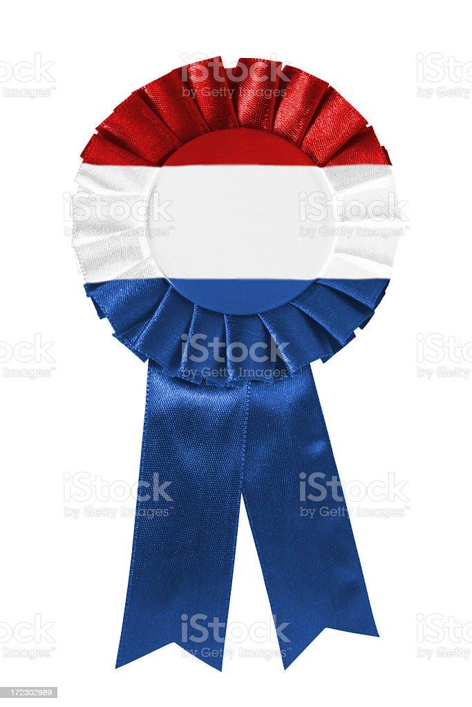 Netherlands ribbon royalty-free stock photo