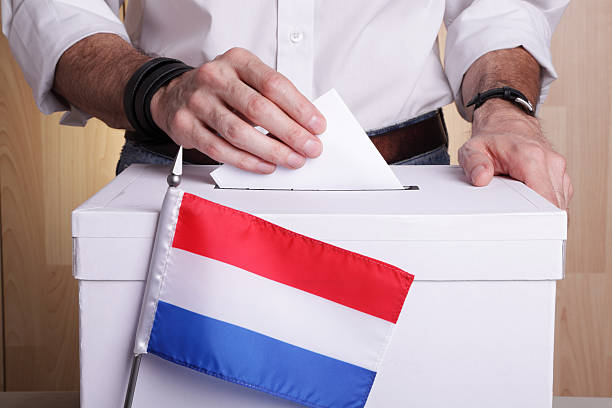 Netherlands to vote stock photo