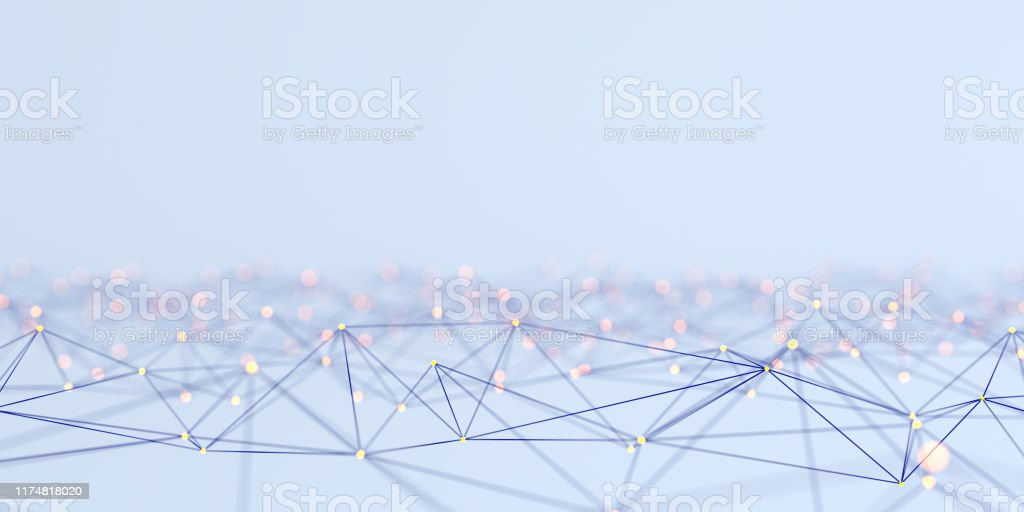 Network Abstract concept - Royalty-free Abstract Stock Photo