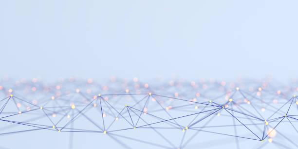 koncepcja abstrakcyjna sieci - sieć komputerowa zdjęcia i obrazy z banku zdjęć
