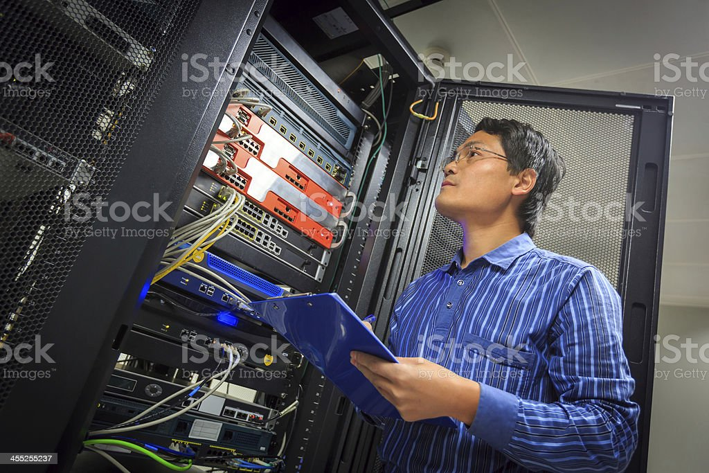 Network Administrator stock photo