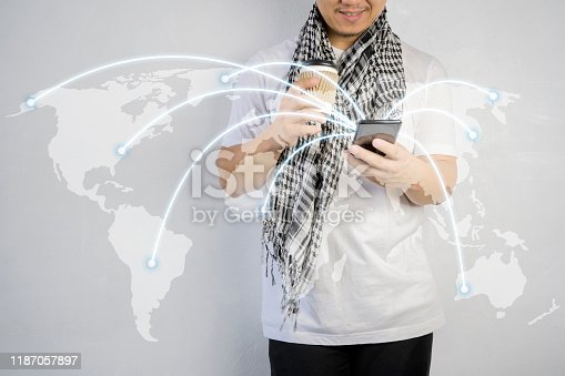 1127070103 istock photo network and connection concept. 1187057897