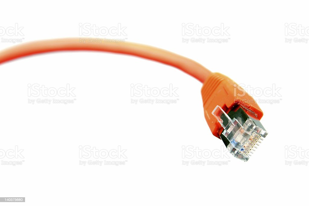 network cable royalty-free stock photo