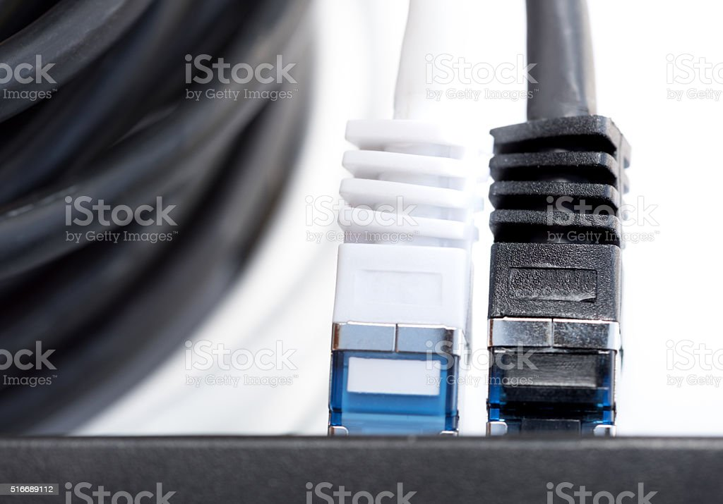 Network Cables stock photo