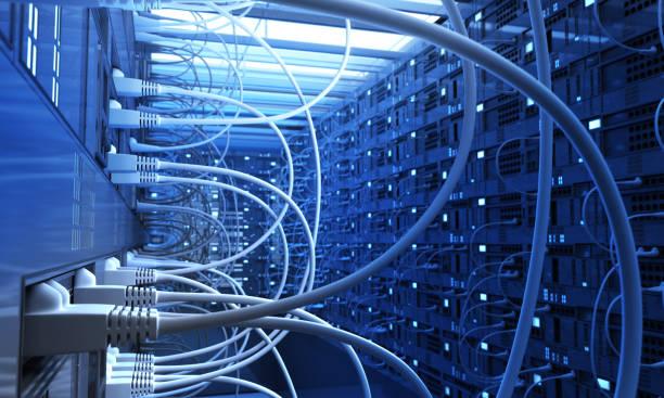 Network Chaos stock photo
