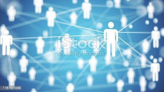 istock Network concept 1187831040