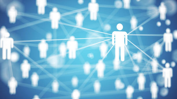 Network concept stock photo