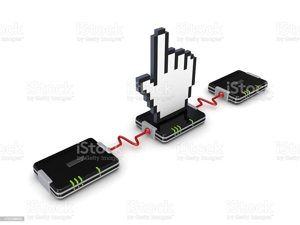 Network concept. royalty-free stock photo