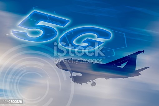 1141355850 istock photo 5G network conceptual - Connected everywhere for everyone 1140800528