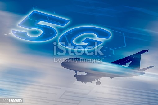 1141355850 istock photo 5G network conceptual - Connected everywhere for everyone 1141355850