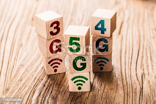 1152653473 istock photo 5G (5th Generation) network connecting technology future global. Hand flip wood cube change number 4G to 5G 1182205099