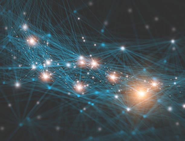 Netzwerk-Anschluss-Technologie – Foto