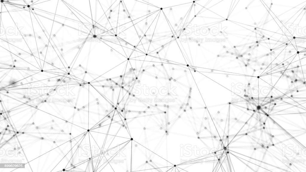 network grid stock photo