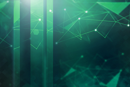 1146532466 istock photo Network interface on green background 1141524687