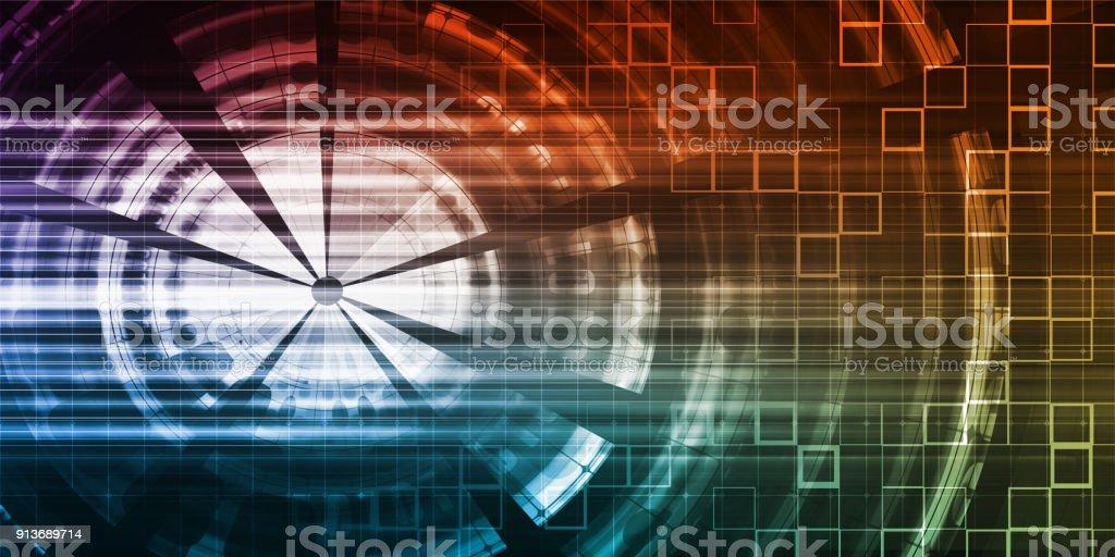 Network Monitoring stock photo