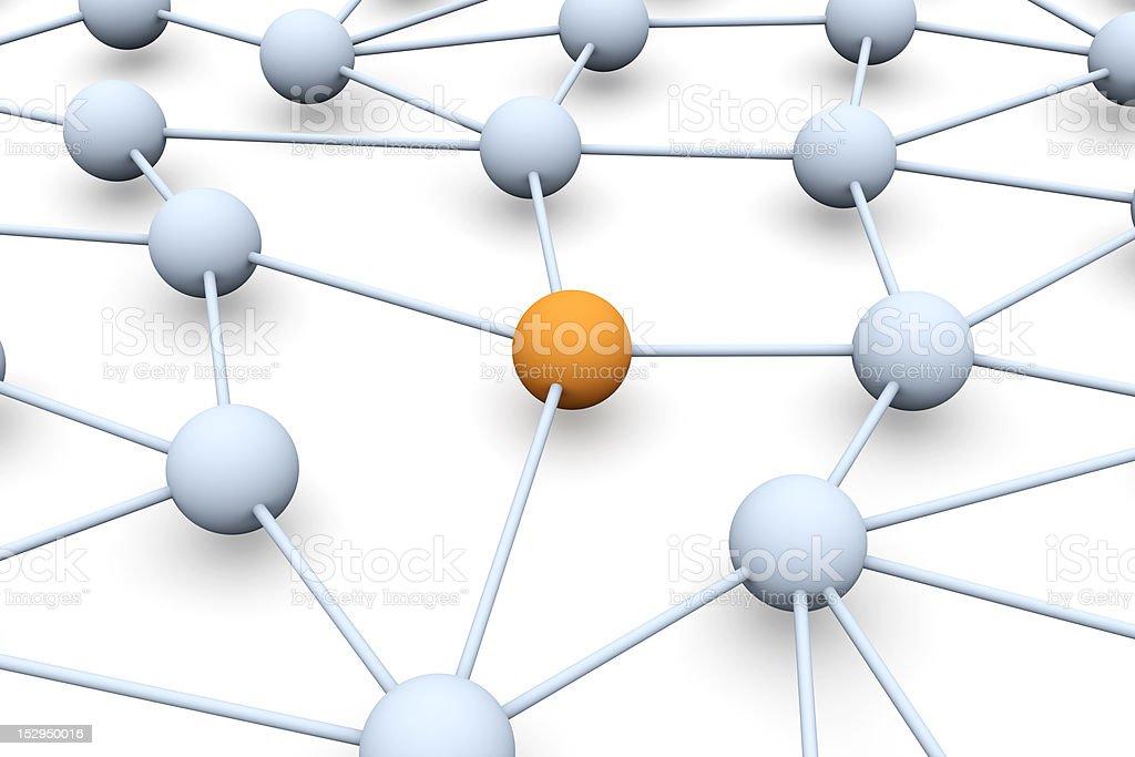 Network Node royalty-free stock photo