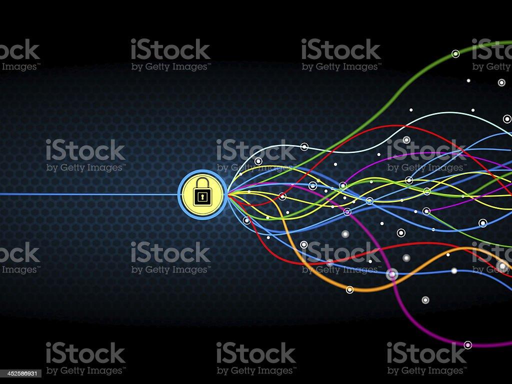 Network optimization stock photo