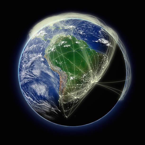 Rede para a América do Sul - foto de acervo