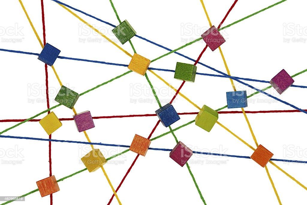 Netzwerk - Lizenzfrei Band Stock-Foto