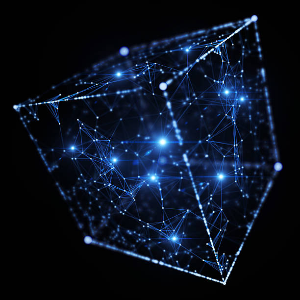 network - cube shape stock pictures, royalty-free photos & images