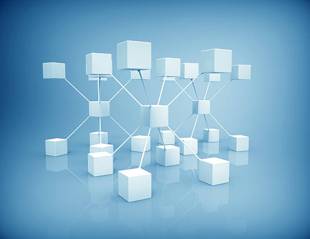 network - organizational chart stock photos and pictures