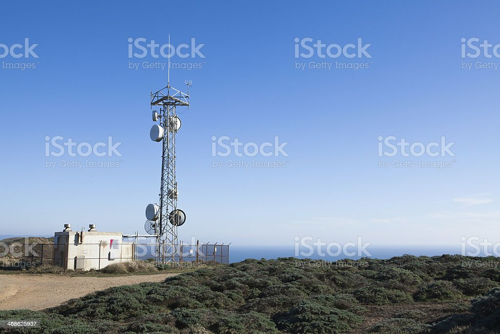 Network Provider Station stock photo