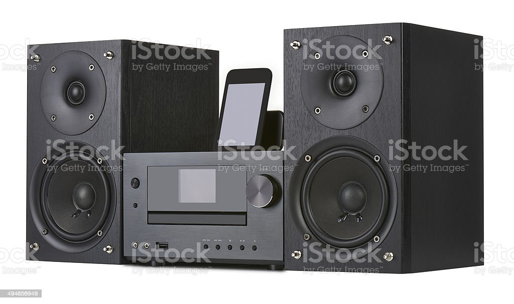 Network receiver system stock photo