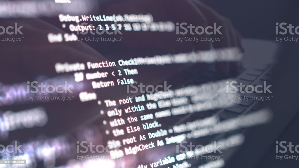 Network Security, Cyber Security, Digital Protection, Computer Hack Background stock photo