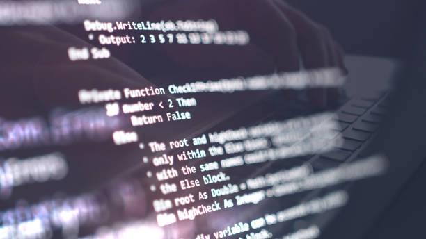network security, cyber security, digital protection, computer hack background - источник стоковые фото и изображения