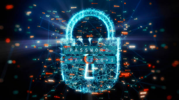 Network Security Design stock photo