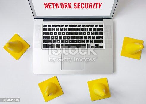 istock Network security 930594846