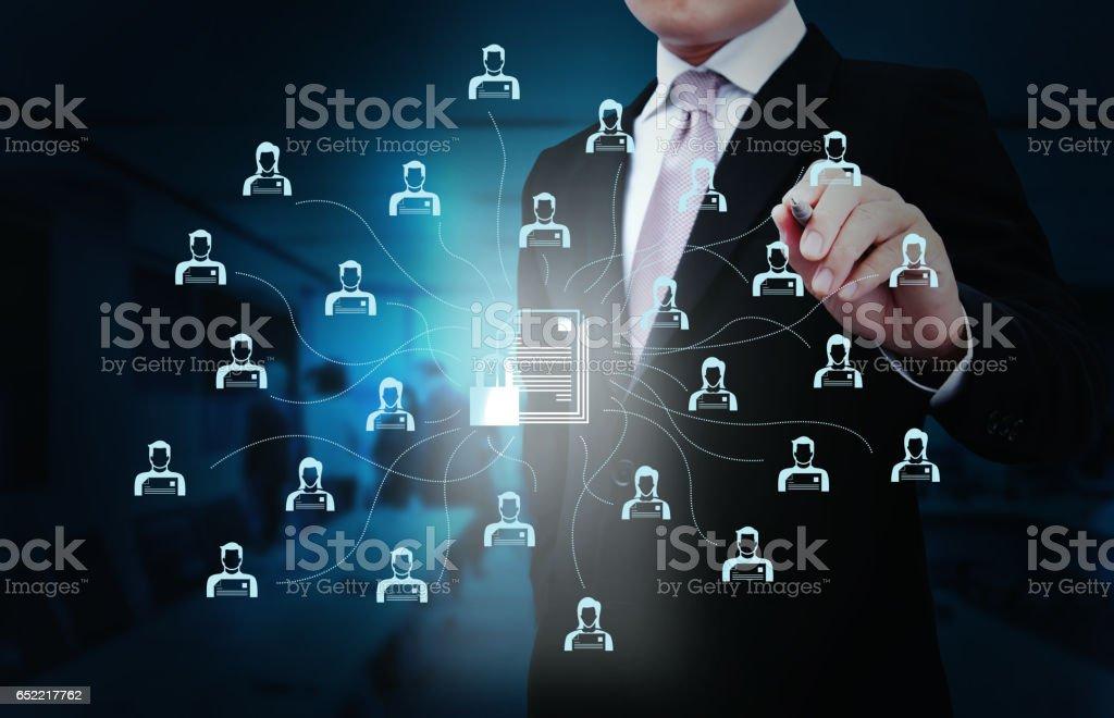 Netzwerk Sicherheitstechnik. – Foto