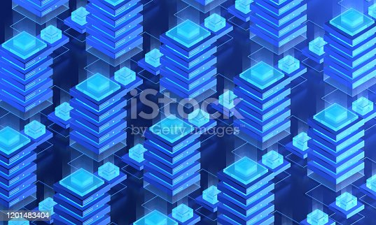 1151943994 istock photo Network Server Array Solutions 1201483404