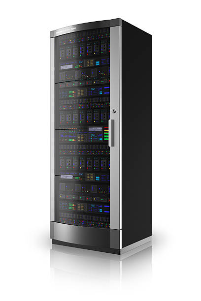 network server rack - mainframe stock pictures, royalty-free photos & images