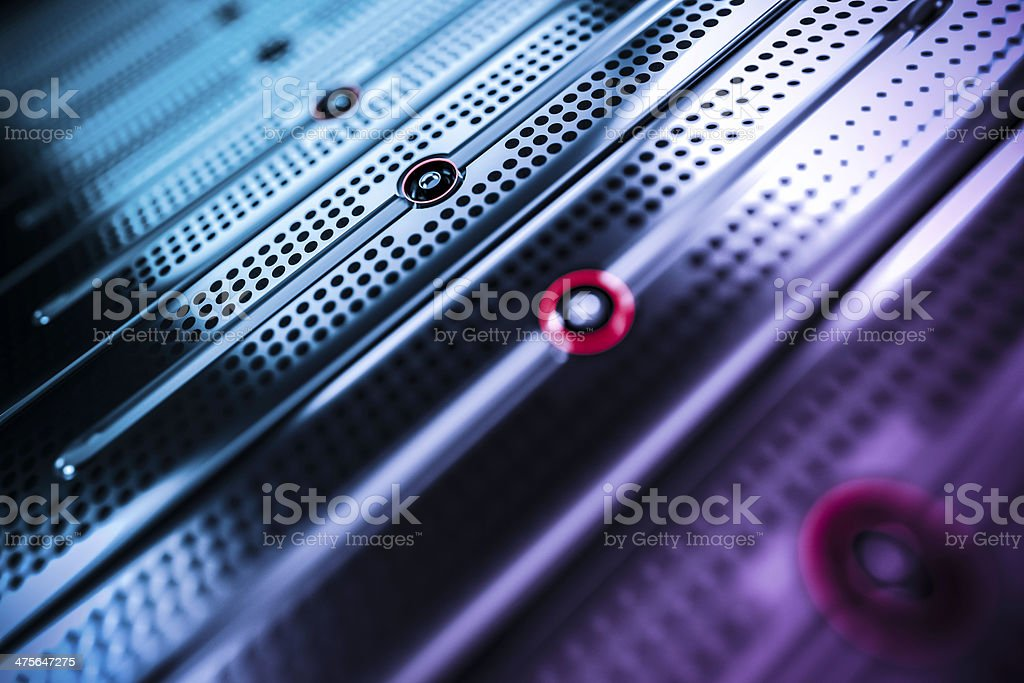 network servers stock photo