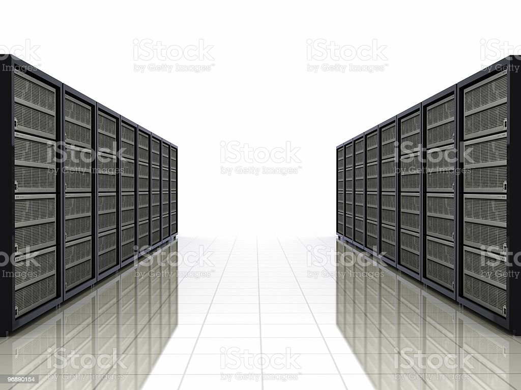 Network Servers royalty-free stock photo
