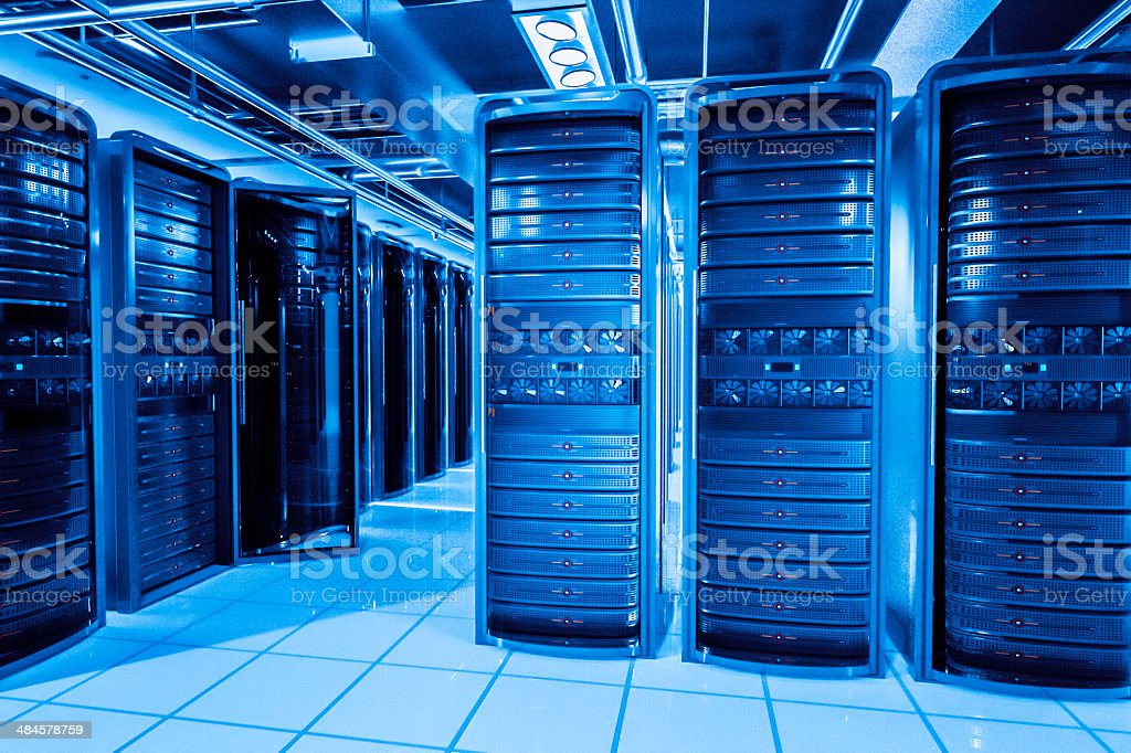 Network server Regale – Foto