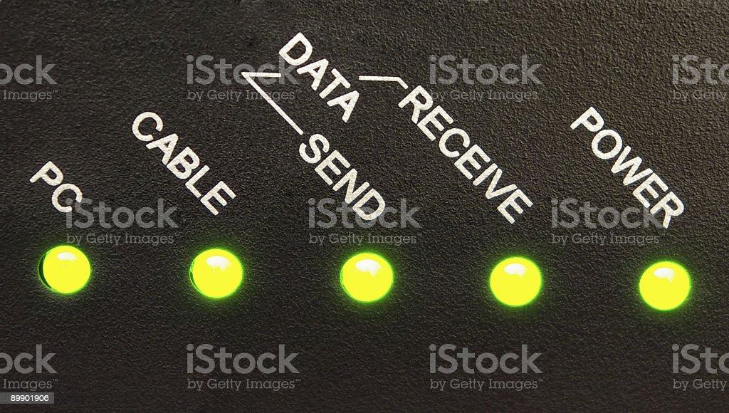 Network Status royalty-free stock photo