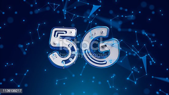 istock 5G network symbol on blue digital background 1126135217
