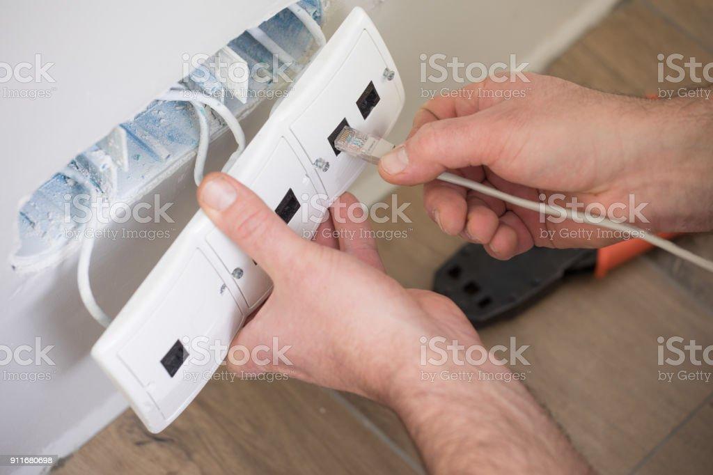 Network technician... – zdjęcie