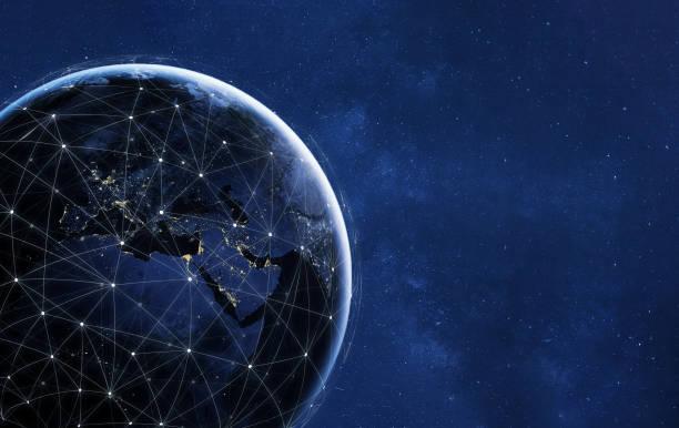 Netzwerktechnik und Kommunikationskonzept – Foto