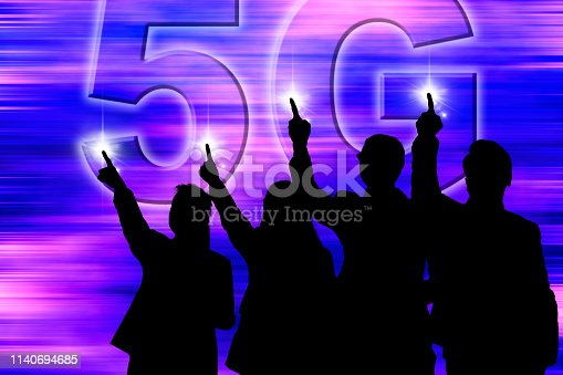 1141355850 istock photo 5G network - the touchable super high speed that made for all - 5G conceptual 1140694685