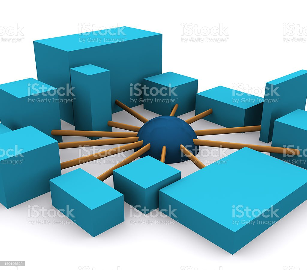 networking 1 royalty-free stock photo